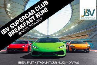 IBV Supercar Club Run