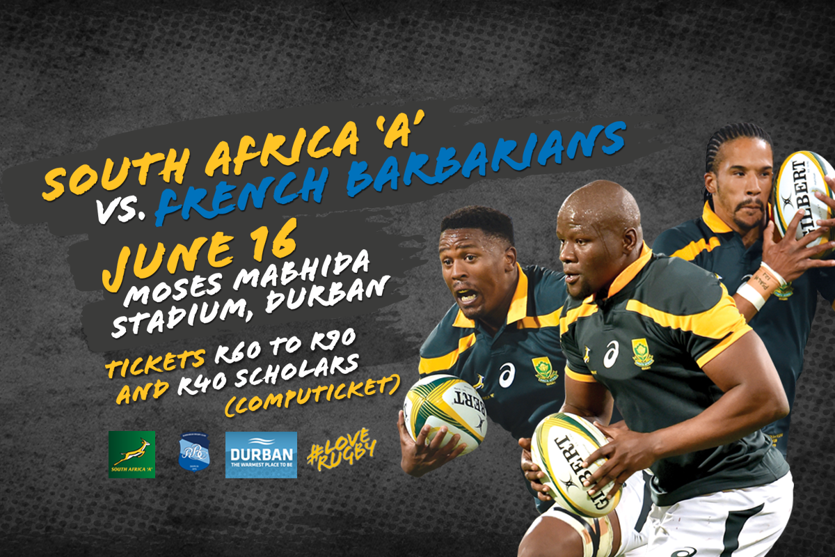 A first for #MMStadium: Rugby!