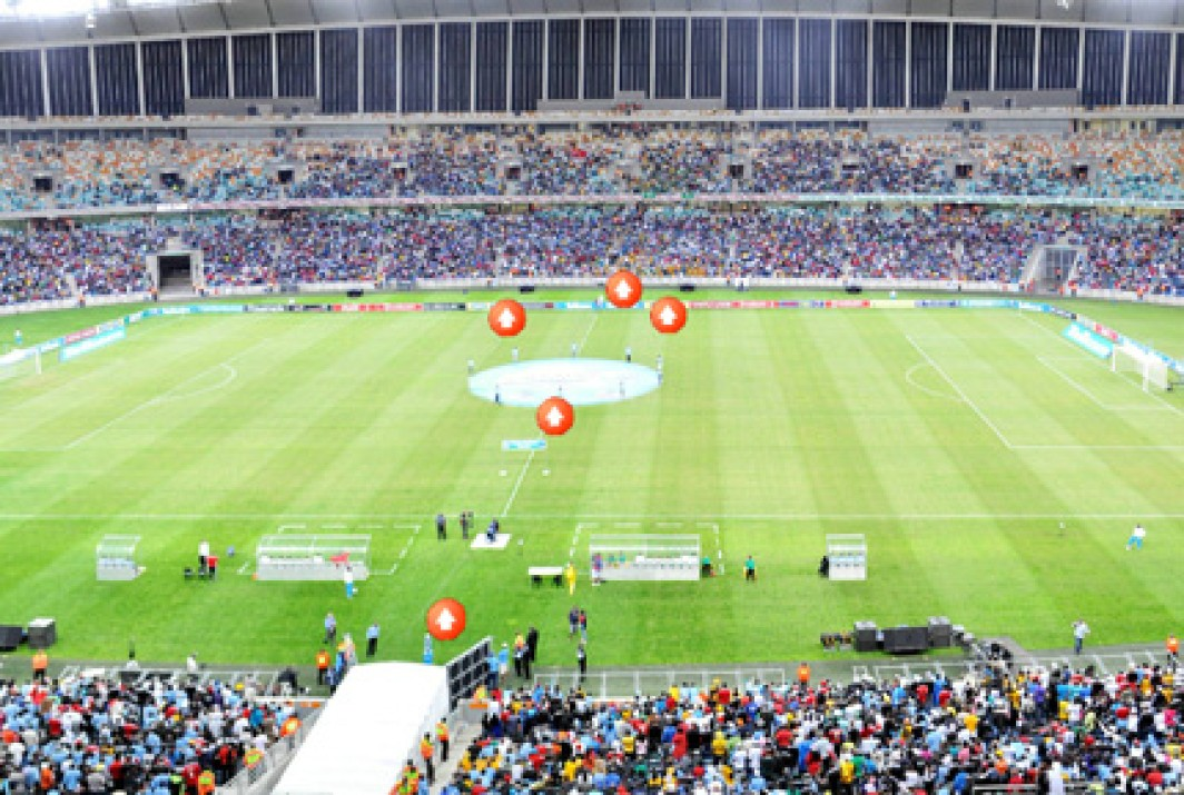 Golden Arrows vs Orlando Pirates virtual tour