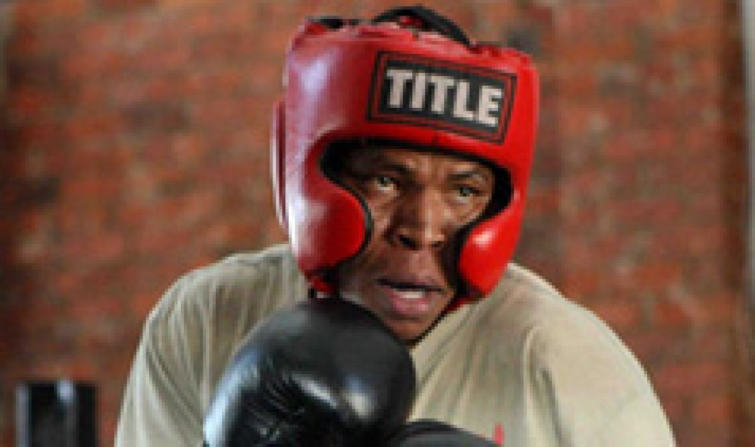 Moses Mabhida's very own boxing champ