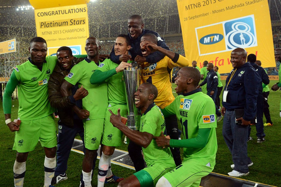 Platinum Stars take the MTN 8 Cup home!