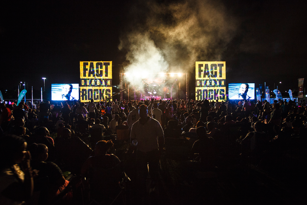 Bring in 2017 with Fact Durban Rocks!