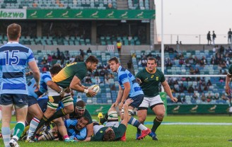 SA 'A' Team VS French Barbarians