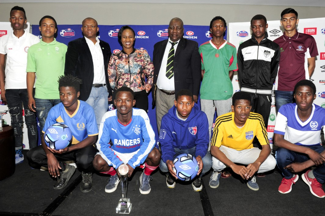 All set for the Engen Knockout Challenge