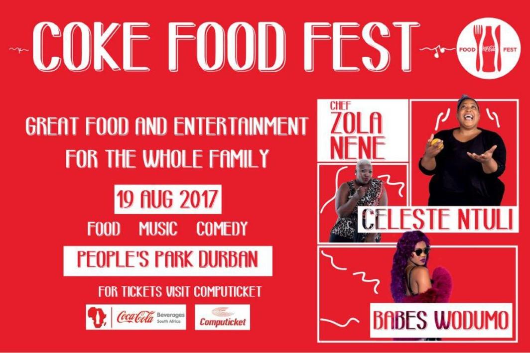 Eat, dance & laugh at Coke Food Fest