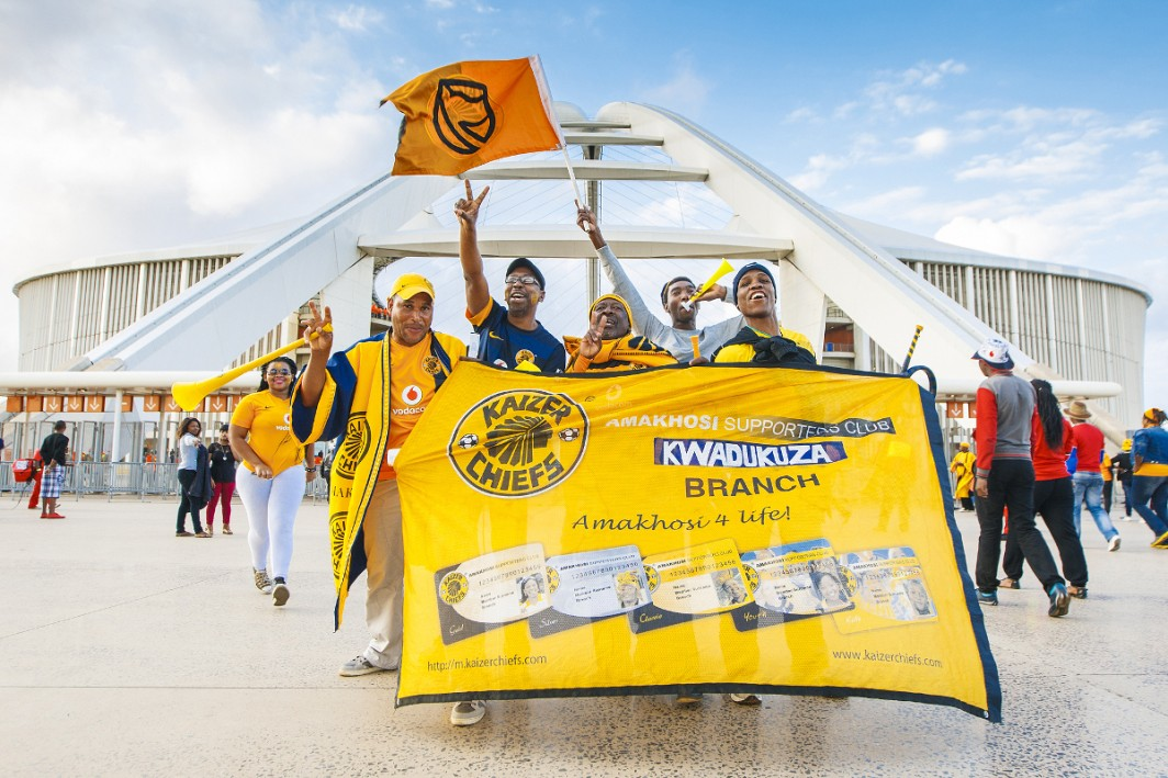 Kaizer Chiefs VS SuperSport United in MTN8 Quarter Final