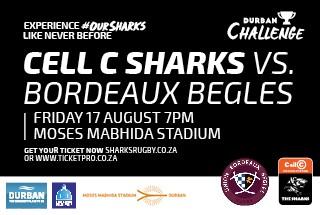 Cell C Sharks VS Union Bordeaux Bègles
