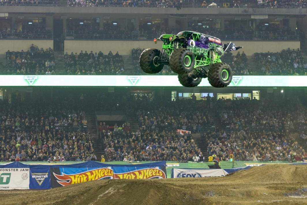 Monster Jam thunders into Durban