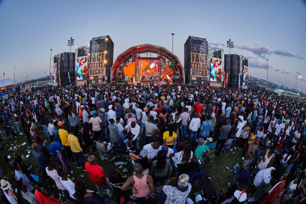 Say cheers to 2019 with Fact Durban Rocks!