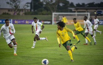 COSAFA Plate Semi-Final: Uganda VS South Africa