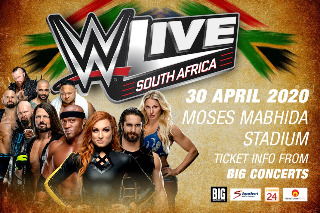 WWE Live returns to Durban!