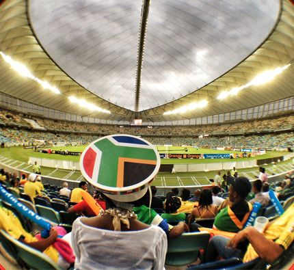 afcon - South Africa Flag