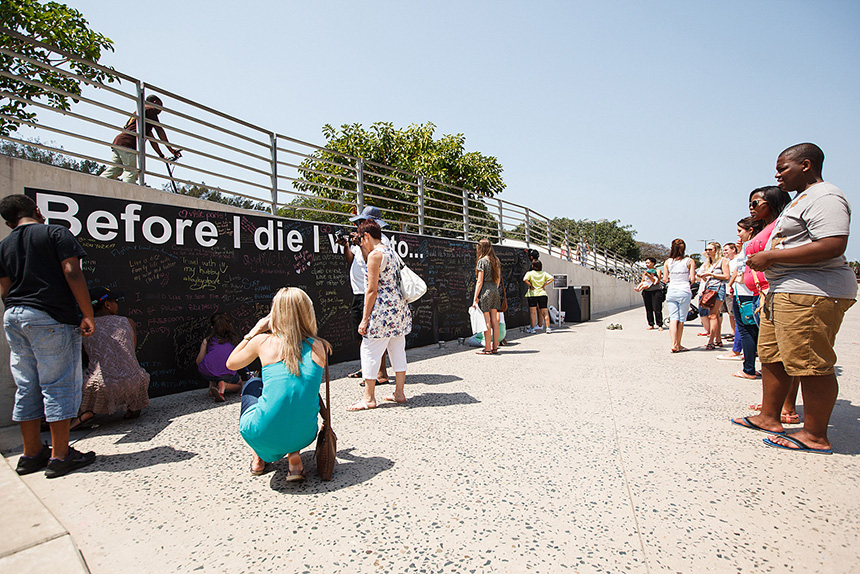 Before I Die Wall Durban