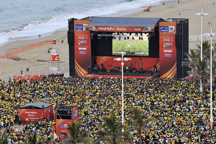 Fan Park North Beach Durban