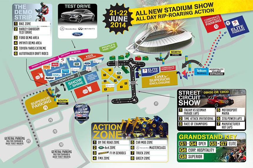 Top Gear Festival Map