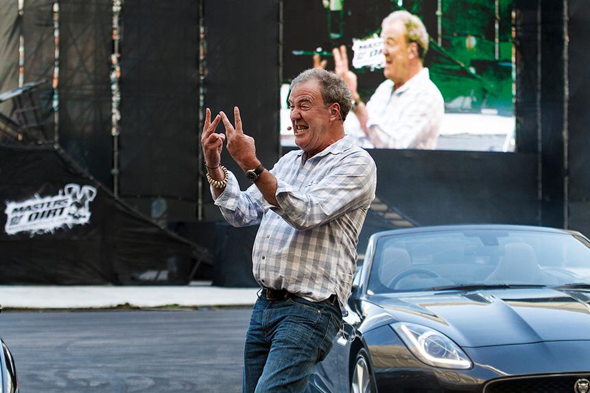 Jeremy Clarkson Moses Mabhida