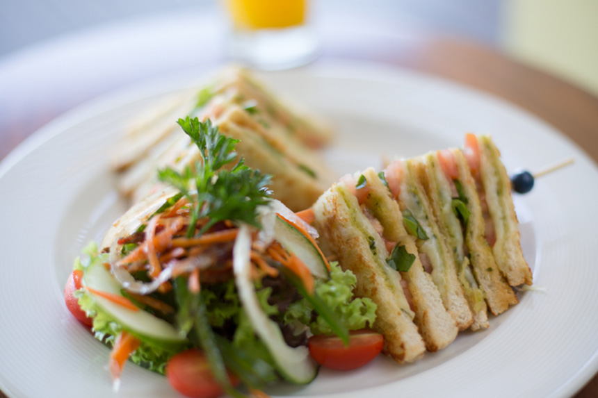Club Sandwich People's Park Cafe