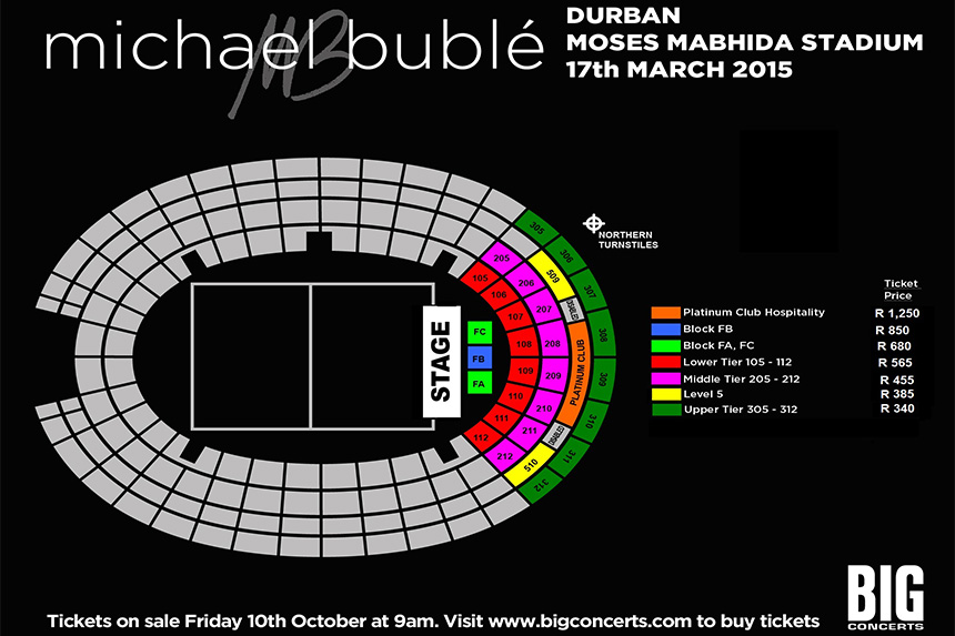 Michael Buble Live at MMStadium Moses Mabhida Stadium  : MB Seating Plan MMS from www.mmstadium.com size 860 x 573 jpeg 132kB