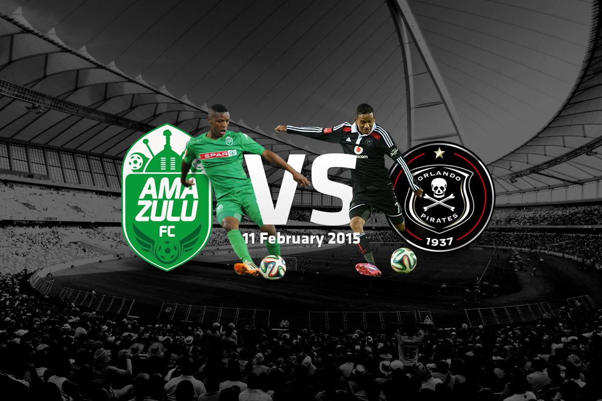Amazulu vs Orlando Pirates - Moses Mabhida Stadium Moses Mabhida Stadium