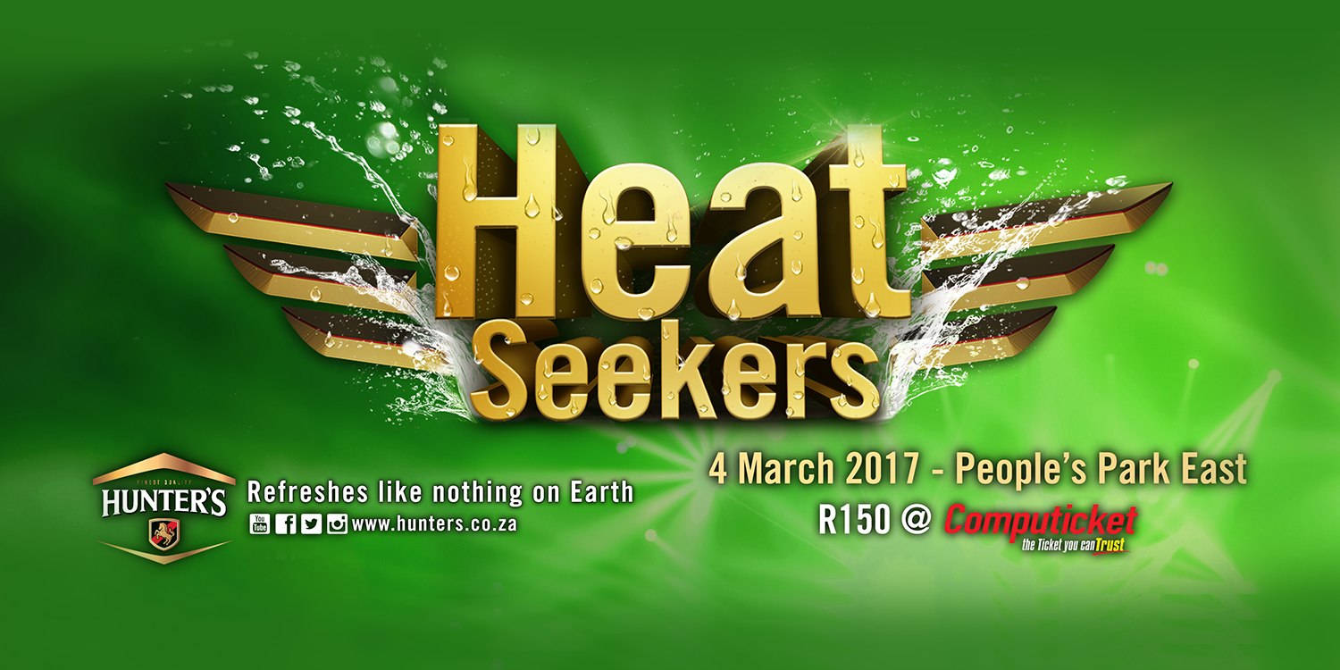 #BringTheHeat with Hunter's!