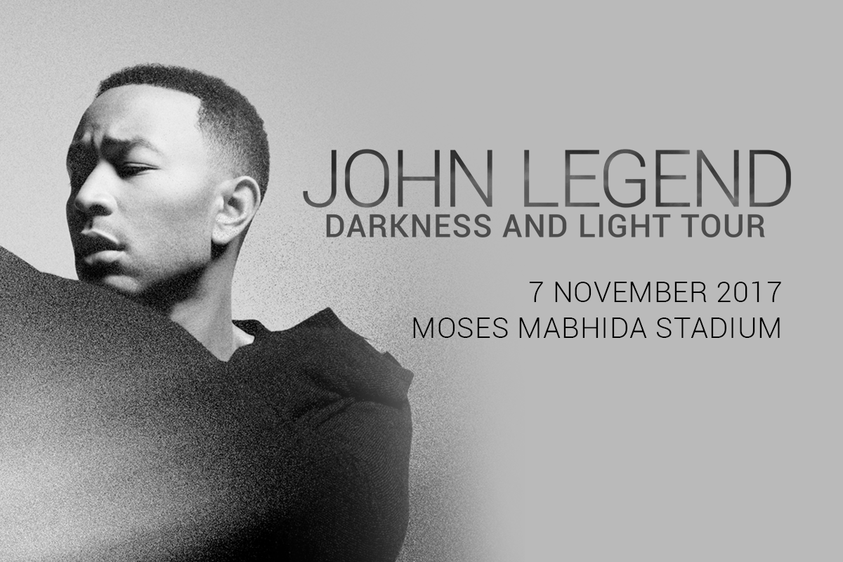 John Legend heading back to Durban!