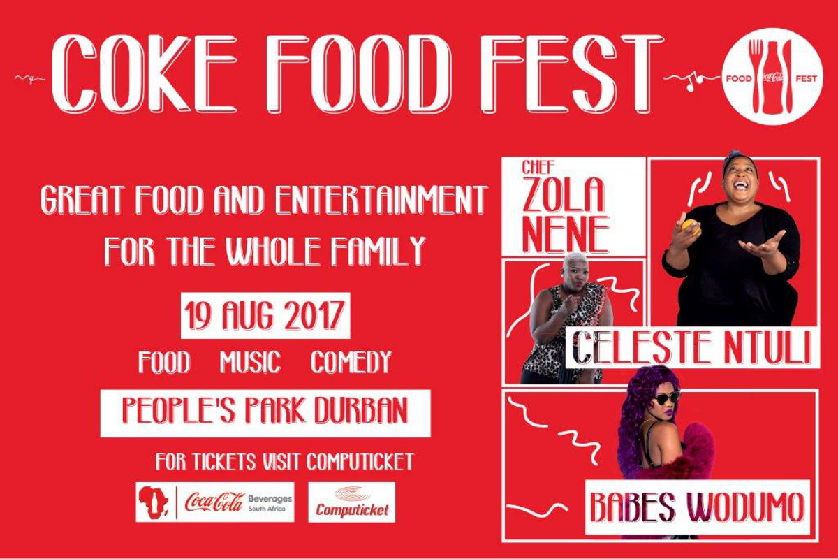 Eat, dance & laugh at Coke Food Fest