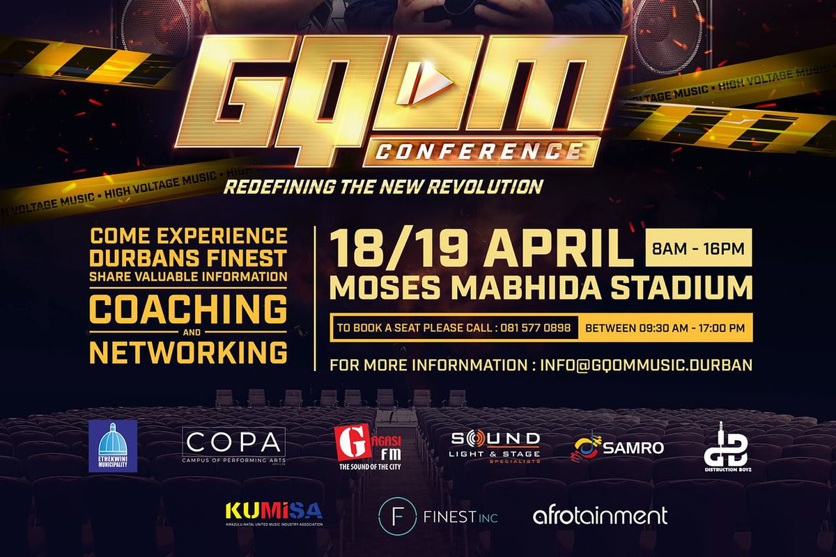 All ears on the first Gqom Conference!