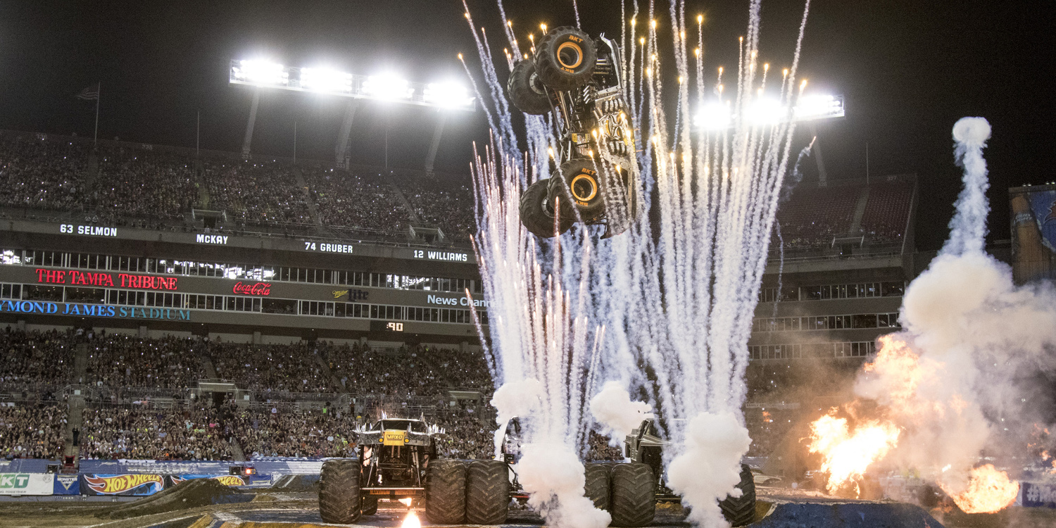 Get revved up for Monster Jam!
