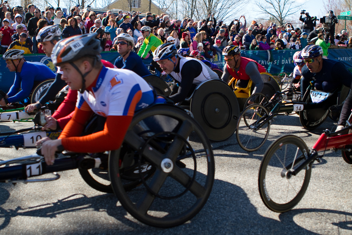 Hand cycling for a cause, count us in!
